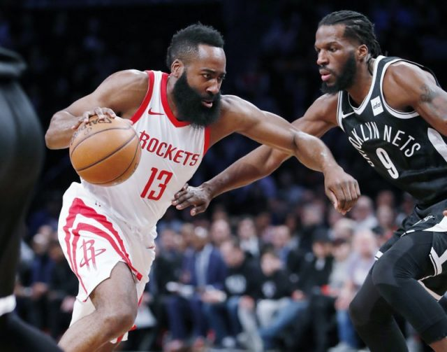 Fuentes: Houston Rockets cambia a James Harden a Brooklyn Nets