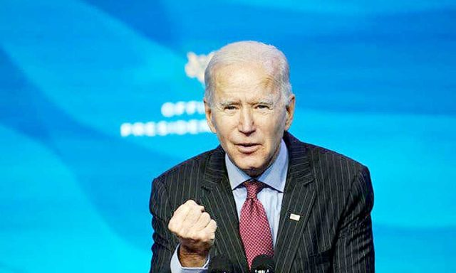 "Joe Biden prepara un discurso ""optimista"""