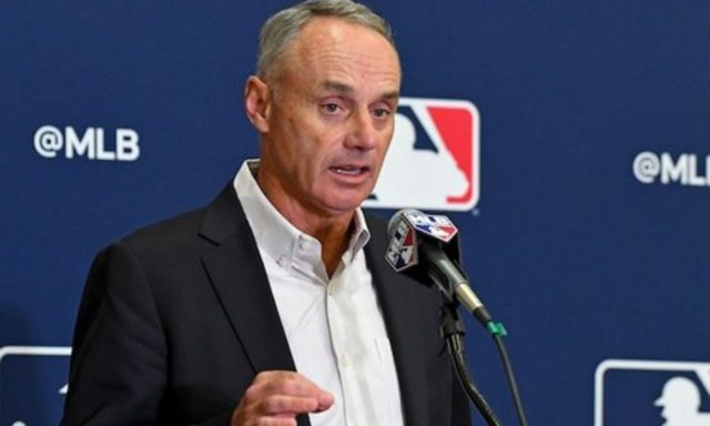 Rob Manfred, comisionado de MLB.